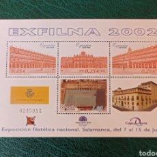 Sellos: ESPAÑA N°3906 MNH**EXFILNA 2002 (FOTOGRAFÍA ESTÁNDAR). Lote 277720283