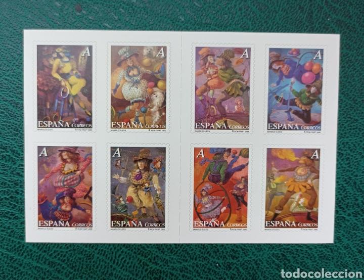 ESPAÑA N°4133C. MNH**EL CIRCO 2005 (FOTOGRAFÍA ESTÁNDAR) (Sellos - España - Juan Carlos I - Desde 2.000 - Nuevos)