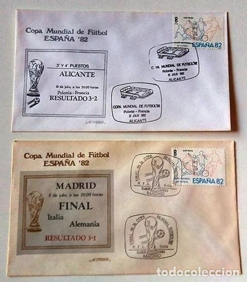 Sellos: ESPAÑA 1982 - COLECCIÓN DE SPD DEL MUNDIAL DE FÚTBOL DE ESPAÑA - Foto 6 - 277746693