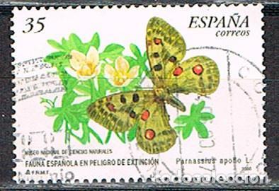 EDIFIL 3694, MARIPOSAS APOLO, USADO (Sellos - España - Juan Carlos I - Desde 1.986 a 1.999 - Usados)