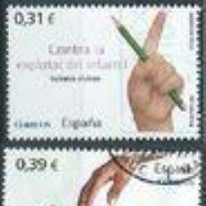 Sellos: SELLOS USADOS DE ESPAÑA 2008, EDIFIL 4392/ 94. Lote 278196228