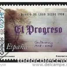 Sellos: SELLO USADO DE ESPAÑA 2008, EDIFIL 4413. Lote 278196938