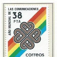 Sellos: 1983. ESPAÑA. EDIFIL 2709**MNH. AÑO MUNDIAL DE LAS COMUNICACIONES.. Lote 278268173