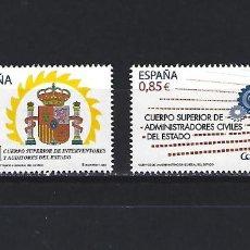 Sellos: 4759/60 CUERPOS ADMINISTRACION GENERAL DEL ESTADO NUEVOS. Lote 278457708