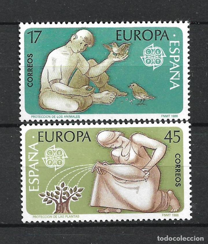 ESPAÑA 1986 EDIFIL 2847/2848 ** MNH - 2/55 (Sellos - España - Juan Carlos I - Desde 1.986 a 1.999 - Nuevos)