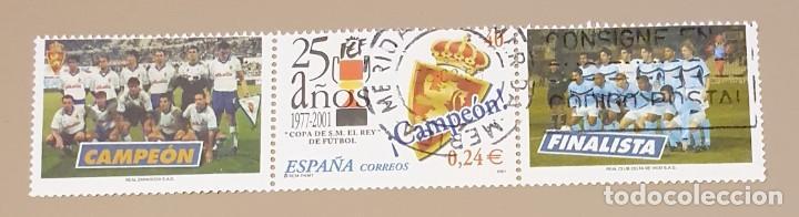 SELLO USADO EDIFIL 3805 CON VIÑETAS (Sellos - España - Juan Carlos I - Desde 2.000 - Usados)