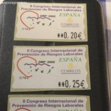Sellos: ATM. RIESGOS LABORALES. NUEVOS.. Lote 279475273