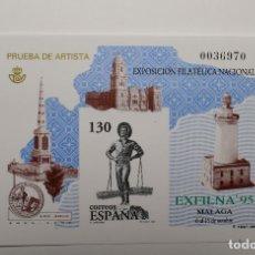 Sellos: PRUEBA OFICIAL DE ESPAÑA.NUEVA Y SIN FIJASELLOS.LUJO.. Lote 280266313