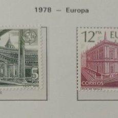 Sellos: SELLOS NUEVOS ESPAÑA - 1978 - EUROPA - 2 SELLOS. Lote 282493608