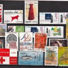 Sellos: ESPAÑA SELLOS USADOS EN €. Lote 284249633