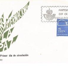 Sellos: ESPAÑA 1986 SOBRE PRIMER DIA EDIFIL 2844 - AÑO INTERNAC. DE LA PAZ. Lote 285589798