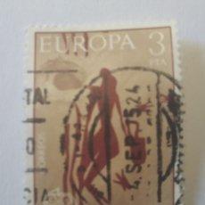 Sellos: SELLO ESPAÑA CUEVA DE LA ARAÑA 3 PESETAS 1975 USADO. Lote 285670663