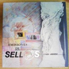 Sellos: CORREOS - ÁLBUM EMISIONES DE SELLOS 2003 ESPAÑA - ANDORRA - COMPLETO CON SELLOS. Lote 286620103