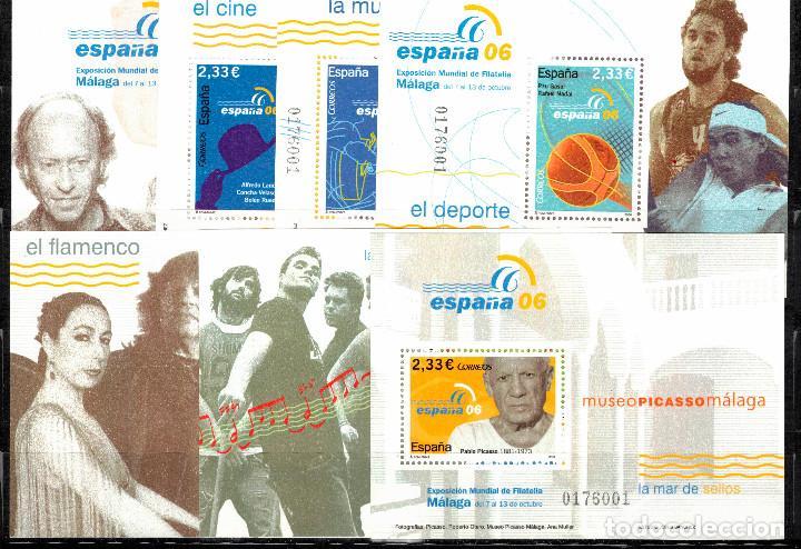 EXPOSICION MUNDIAL FILATELIA ESPAÑA 2006. EDIFIL 4268-4274. NUEVOS (MNH). MISMA NUMERACION. (Sellos - España - Juan Carlos I - Desde 2.000 - Nuevos)