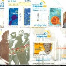 Sellos: EXPOSICION MUNDIAL FILATELIA ESPAÑA 2006. EDIFIL 4268-4274. NUEVOS (MNH). MISMA NUMERACION.. Lote 286740893