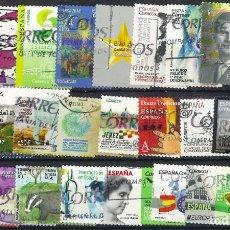 Sellos: LOTE SELLOS ESPAÑA EN EUROS. Lote 286745958