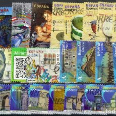 Sellos: LOTE SELLOS ESPAÑA EN EUROS. Lote 286746268