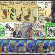 Sellos: LOTE SELLOS ESPAÑA EN EUROS. Lote 286746443