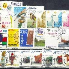 Sellos: LOTE SELLOS ESPAÑA EN EUROS. Lote 286746533