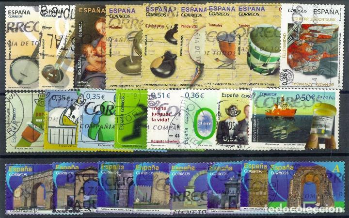 LOTE SELLOS ESPAÑA EN EUROS (Sellos - España - Juan Carlos I - Desde 2.000 - Usados)