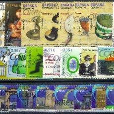 Sellos: LOTE SELLOS ESPAÑA EN EUROS. Lote 286746608