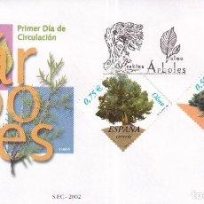 Francobolli: SELLOS ESPAÑA OFERTA SOBRES DEL PRIMER DÍA AÑO 2002. Lote 287332978