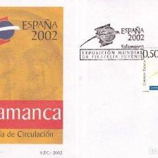 Timbres: SELLOS ESPAÑA OFERTA SOBRES DEL PRIMER DÍA AÑO 2002. Lote 287333068