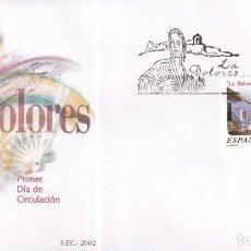 Timbres: SELLOS ESPAÑA OFERTA SOBRES DEL PRIMER DÍA AÑO 2002. Lote 287335128