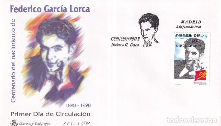 SELLOS ESPAÑA OFERTA SOBRES DEL PRIMER DÍA AÑO 1998 (Sellos - España - Juan Carlos I - Desde 1.986 a 1.999 - Nuevos)