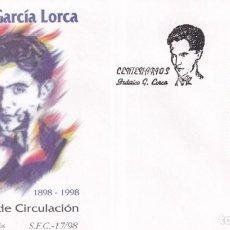 Sellos: SELLOS ESPAÑA OFERTA SOBRES DEL PRIMER DÍA AÑO 1998. Lote 287339093