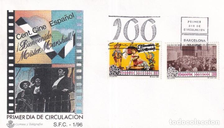 SELLOS ESPAÑA OFERTA SOBRES DEL PRIMER DÍA AÑO 1996 (Sellos - España - Juan Carlos I - Desde 1.986 a 1.999 - Nuevos)