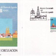 Sellos: SELLOS ESPAÑA OFERTA SOBRES DEL PRIMER DÍA AÑO 1995. Lote 287348088