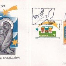 Sellos: SELLOS ESPAÑA OFERTA SOBRES DEL PRIMER DÍA AÑO 1993. Lote 287356703