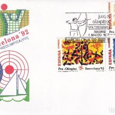 Francobolli: SELLOS ESPAÑA OFERTA SOBRES DEL PRIMER DÍA AÑO 1992. Lote 287358133