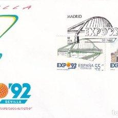 Sellos: SELLOS ESPAÑA OFERTA 2 SOBRES DEL PRIMER DÍA AÑO 1991. Lote 287360753