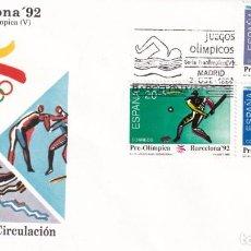 Francobolli: SELLOS ESPAÑA OFERTA SOBRES DEL PRIMER DÍA AÑO 1990. Lote 287361913