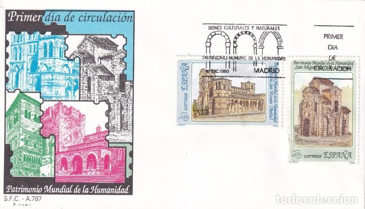 SELLOS ESPAÑA OFERTA 2 SOBRES DEL PRIMER DÍA AÑO 1990 (Sellos - España - Juan Carlos I - Desde 1.986 a 1.999 - Nuevos)
