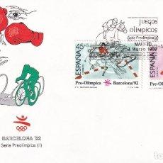 Francobolli: SELLOS ESPAÑA OFERTA 2 SOBRES DEL PRIMER DÍA AÑO 1989. Lote 287363713
