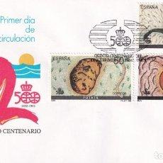 Francobolli: SELLOS ESPAÑA OFERTA 2 SOBRES DEL PRIMER DÍA AÑO 1989. Lote 287364508