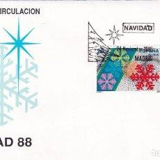 Sellos: SELLOS ESPAÑA OFERTA SOBRES DEL PRIMER DÍA AÑO 1988. Lote 287367728