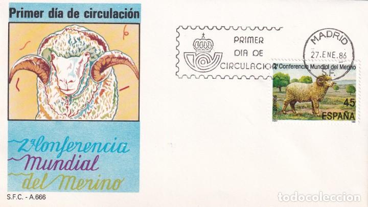 SELLOS ESPAÑA OFERTA SOBRES DEL PRIMER DÍA AÑO 1986 (Sellos - España - Juan Carlos I - Desde 1.986 a 1.999 - Nuevos)