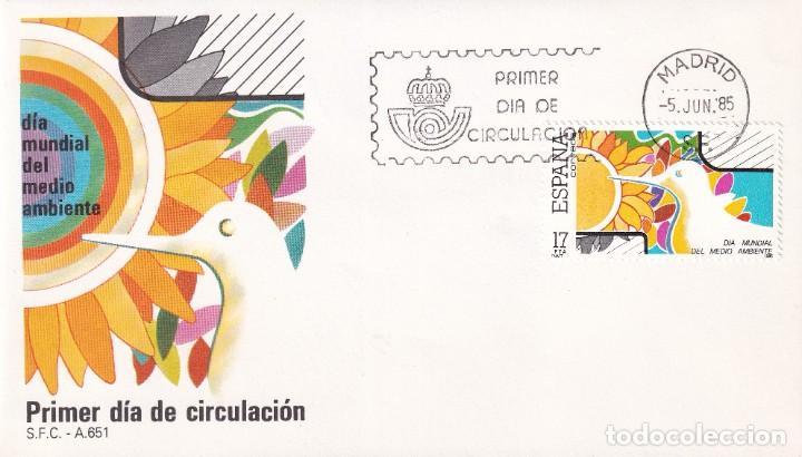 SELLOS ESPAÑA OFERTA SOBRES DEL PRIMER DÍA AÑO 1985 (Sellos - España - Juan Carlos I - Desde 1.986 a 1.999 - Nuevos)