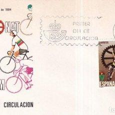 Sellos: SELLOS ESPAÑA OFERTA SOBRES DEL PRIMER DÍA AÑO 1984. Lote 287443268