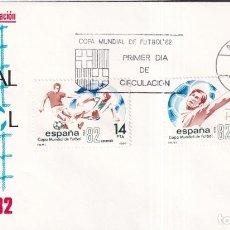 Sellos: SELLOS ESPAÑA OFERTA SOBRES DEL PRIMER DÍA AÑO 1982. Lote 287475258