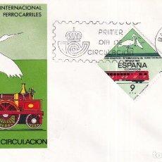 Sellos: SELLOS ESPAÑA OFERTA 2 SOBRES DEL PRIMER DÍA AÑO 1982. Lote 287475428