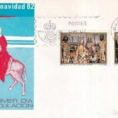 Sellos: SELLOS ESPAÑA OFERTA SOBRES DEL PRIMER DÍA AÑO 1982. Lote 287475588