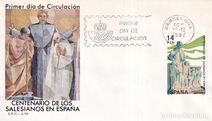 SELLOS ESPAÑA OFERTA SOBRES DEL PRIMER DÍA AÑO 1982 (Sellos - España - Juan Carlos I - Desde 1.975 a 1.985 - Nuevos)