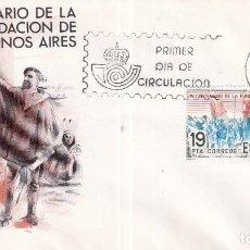 Sellos: SELLOS ESPAÑA OFERTA SOBRES DEL PRIMER DÍA AÑO 1980. Lote 287543103
