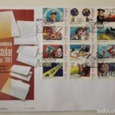 Francobolli: SELLOS ESPAÑA OFERTA SOBRE DEL PRIMER DÍA GRAN FORMATO AÑO 2001. Lote 287555868