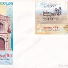 Francobolli: SELLOS ESPAÑA OFERTA SOBRE DEL PRIMER DÍA GRAN FORMATO AÑO 1994. Lote 287557698
